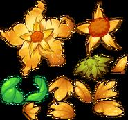 GIANT GOLD FLOWER GIANT FLOWER