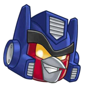 OPTIMUS HEAD 2 TRANSPARENT