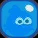 Шарик синие бласт