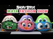 Angry Birds - Toy Unboxing! - Hatchling plushies mask fashion show!
