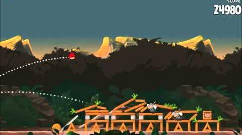 Official Angry Birds Rio Walkthrough Jungle Escape 3-11