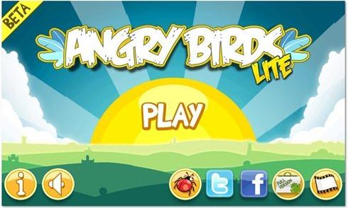 Angry Birds Lite Beta