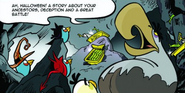 Могучий орёл Angry Birds Halloween