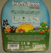 Angry Birds Gear4 Tweeters Back of the Case
