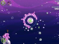 Cosmic Crystals 7-3 (Angry Birds Space)