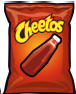 Bag of Spicy Cheetos