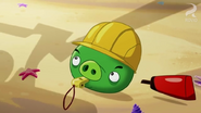 PIG WITH A HARDHAT