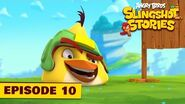 Angry Birds Slingshot Stories Ep 10 - Target practice