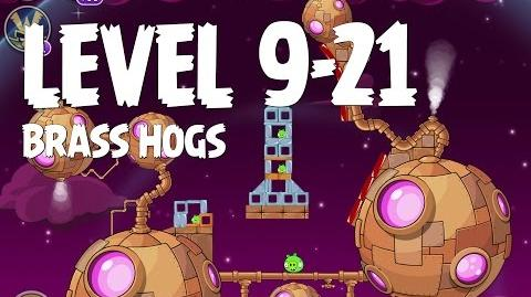 Brass Hogs 9-21 (Angry Birds Space)