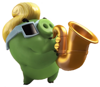 Cerdo Saxofonista Angry Birds Action Trailer.png