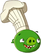 Cerdo Cocinero Minion AB Toons 1