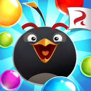 Angry Birds POP Square Icon (Bomb)