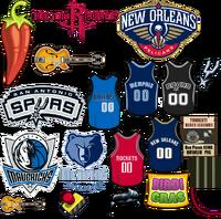 INGAME NBA SOUTHWEST 1