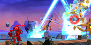 Ironhide Attacking