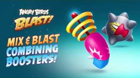 Angry Birds Blast - Combining Boosters