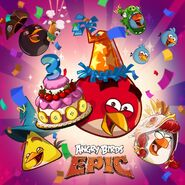 Birthday 3 Epic Poster