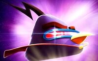 Lazer Bird In Angry Birds Space