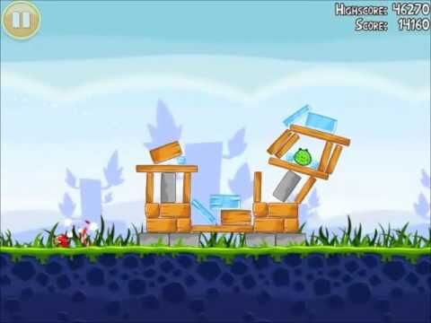 Official_Angry_Birds_Walkthrough_Poached_Eggs_1-9