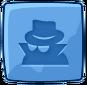 Blue Incognito Block