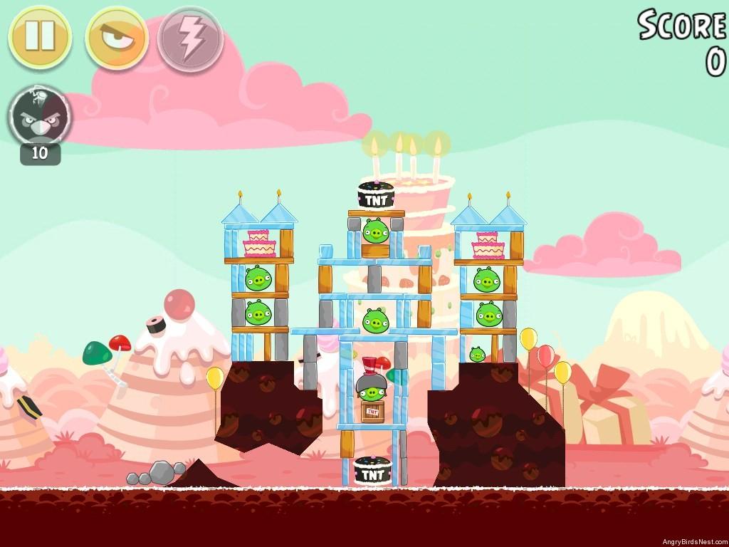 Birdday Party Cake 4 Level 15