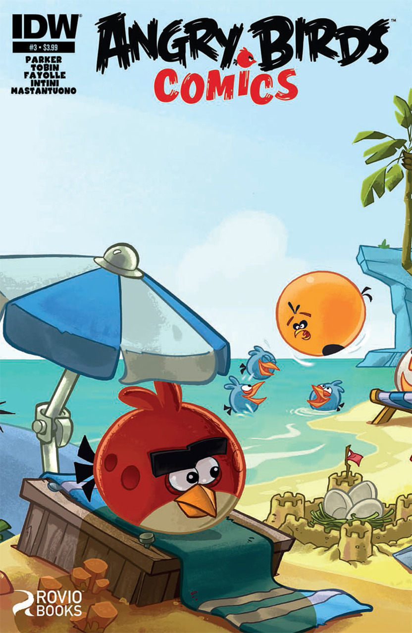 Angry Birds Comics Issue 3