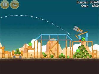 Official_Angry_Birds_Walkthrough_Ham_'Em_High_13-4