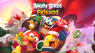 Angry Birds Friends Christmas 2019 Loading Screen