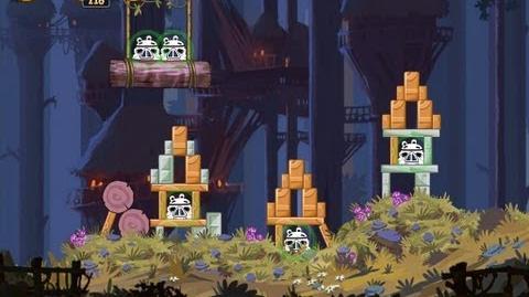 Moon of Endor 5-6 (Angry Birds Star Wars)/Video Walkthrough