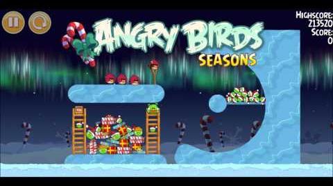 Музыка Angry Birds Winter Wonderham