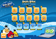 Angry Birds in Ultraboook Adventure level screen