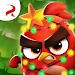 Angry birds Dream Blast Christmas tree red icon
