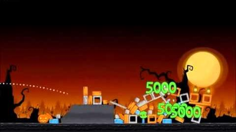 Official Angry Birds Seasons Walkthrough Trick or Treat 1-11