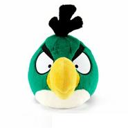 Игрушка зелёной птицы