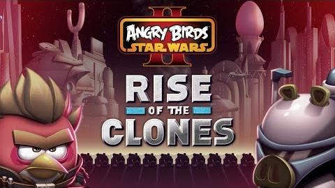 NEW! Angry Birds Star Wars 2 Rise of the Clones gameplay trailer