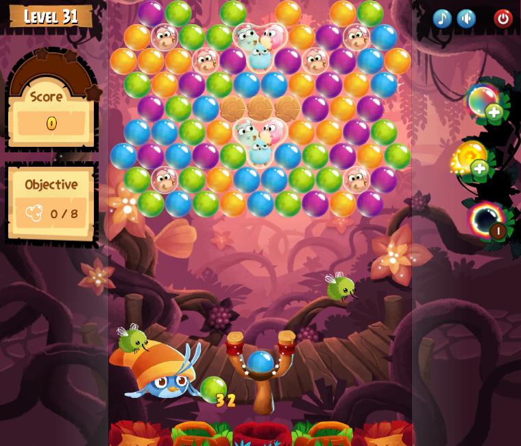 Angry Birds POP! Level 31