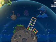 Pig Bang 1-21 (Angry Birds Space)