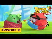 Angry Birds Slingshot Stories S2 - Pig Bird Flu Ep8