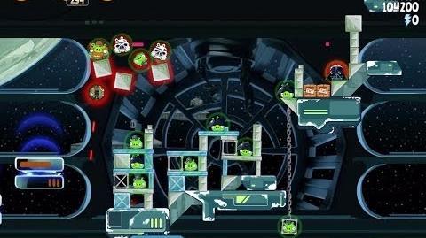 Death Star 2 6-28 (Angry Birds Star Wars)/Video Walkthrough