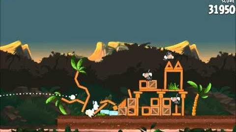Official Angry Birds Rio Walkthrough Jungle Escape 4-3