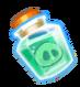 Angry Birds Fight! - Monster Pigs - Aqua Pig Formula Bottle