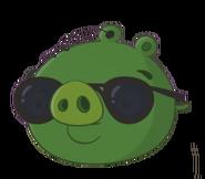 Angry Birds Toons Cerdo Agente