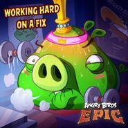 King Pig Epic Poster