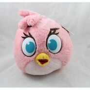 Stella-bird-peluche-angry-birds-pink-velvet-25-cm