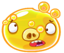 Angry Birds Fight! - Monster Pigs - Tired Super Aqua Pig