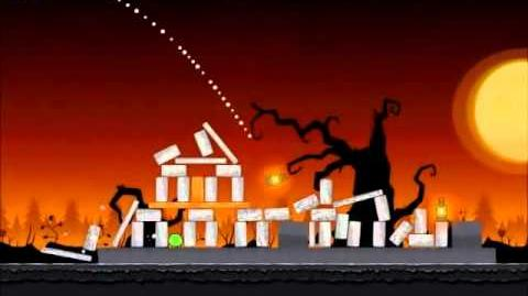 Official Angry Birds Seasons Walkthrough Trick or Treat 1-7