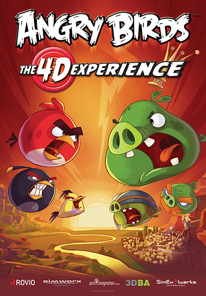 Angry Birds: The 4-D Experience