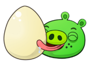 Pig and his egg by antixi-d6u2sal