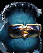 Flocker Blue Portrait 042