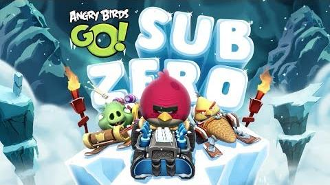 NEW! Angry Birds Go! -- More Sub Zero Levels Gameplay Trailer