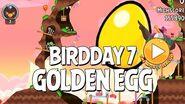 Secret Angry Birds BirdDay 7 Golden Egg Walkthrough - BirdDay 7 Update
